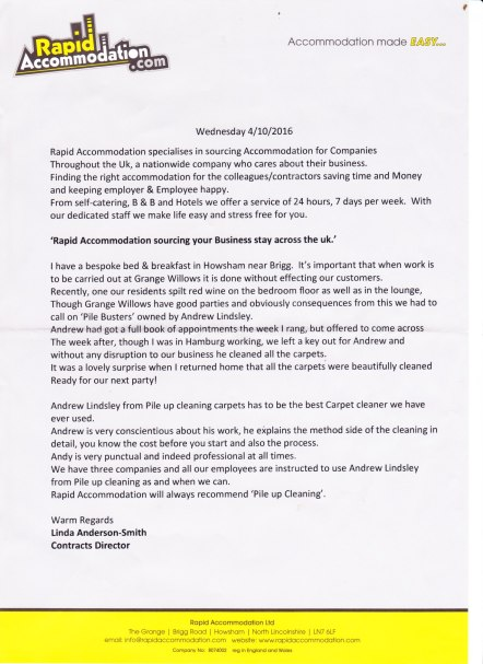 testimonial-pile-up-cleaning-rapid-accommodation-041016